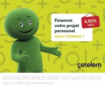prêt personnel Cetelem